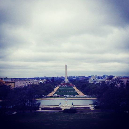 Travel National Monument Washington, D.C. Cloudy