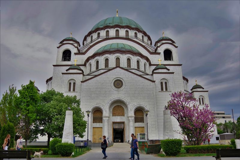 Belgrade Belgrade Serbia St. Sava Church St. Sava Serbian Orthodox Cathedral Travel Travel Photography Traveling Travelling Arch Architecture Dome Façade Faith Tourism Pilgrimage Place Of Worship Religion Spirituality Travel Desinations Travel Destination Travel Destinations Traveller Worship Places