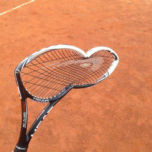 Broken tennis