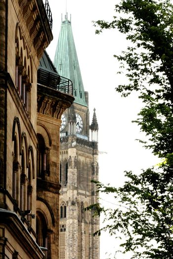 Peace tower at Parliament Hill Ottawa Canada The Architect - 2017 EyeEm Awards