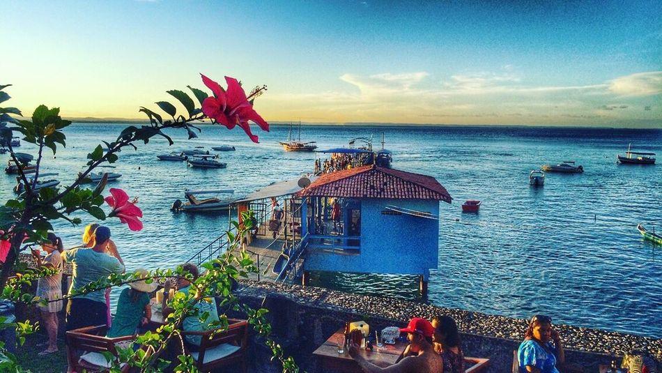 Morro De São Paulo Bahia Brasil Iphoneonly Fotografia Sunset IPhoneography Picoftheday IPhone Por Do Sol Vida Life Trip Viagem Ilha Island