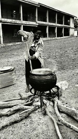 Tales From Nigeria. Local method of cooking. Nature is Life. Showcase: January The Photographer 's Apprentice