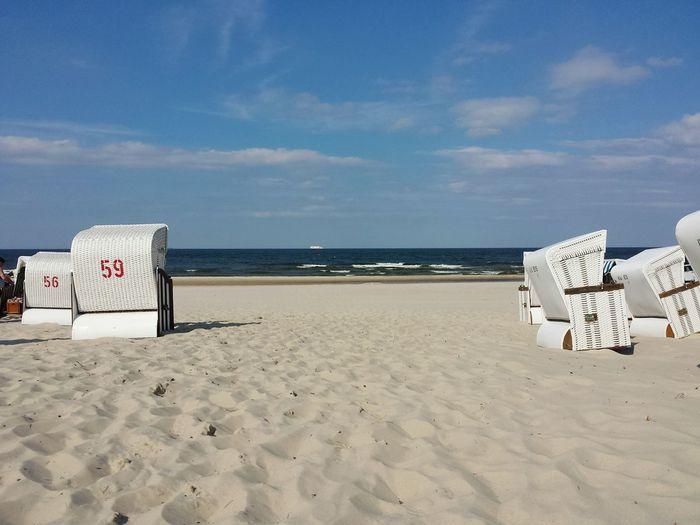 Horizon Over Water Sand Dune Sand Beach Sea Landscape Am Ostseestrand-- Eyeemphoto Eye4photography  Bestnatureshot EyeEm Nature Lover Baltic Sea Ostseeküste