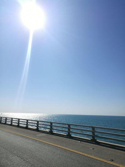 Sea Horizon Over Water Water Beach Sun Outdoors Sky Sunlight No People Day