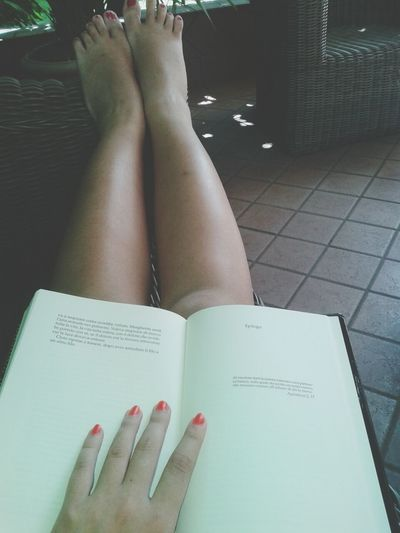 My Legs Reading A Book Shorts ♥ Fashional Beauti