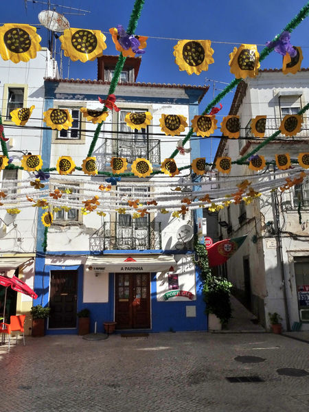 Alcacer Do Sal Alentejo Decoração Fest Portugal Santos Populares