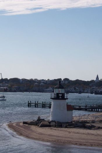 Brant Point lighthouse No People Tranquility ısland Life Island Nantucket