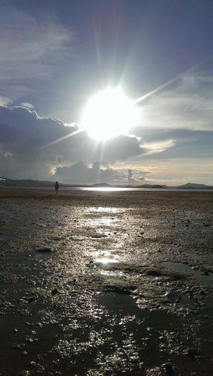 See you tomorrow Mr. Sun Sunset Lowtide  Beach Beachescape Summer Paradise Wheniniloilo