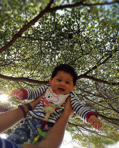 叡叡飛起來超開心 三地門 Family Time Enjoying Life Hello World 侄子 叡叡 Taiwan Flying High