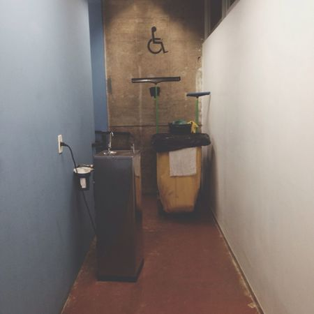 Handicapped Dumpster Corridor