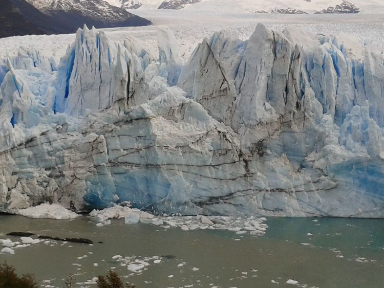 Argentina Beauty In Nature Day Dramatic Landscape Glacial Glacier Ice Lake Landscape Lines Nature No People Outdoors Perito Moreno Glacier Physical Geography Water