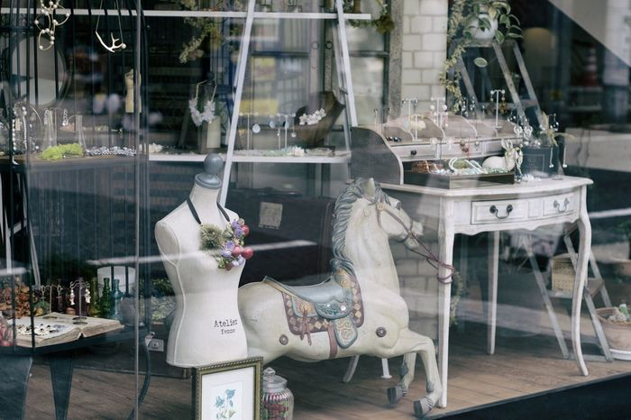 Antique Torso Merry Go Round Window Streetphotography Street Photography Reflection Horse