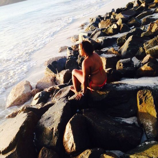 Me Rocks Beach Fun Awesome Cool Today Nature Beauty LOL