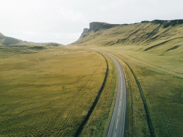 Icelandic roads Road Landscape Nature Scenics Transportation Rural Scene Outdoors Mountain Day No People Beauty In Nature Sky