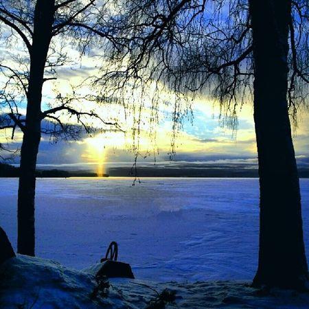Januari Vinter Winter Invierno Sverige Sweden Suecia älv river rio