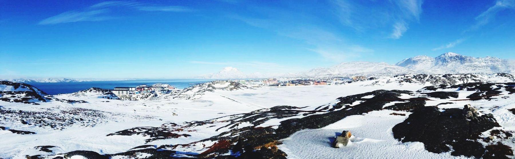 Panorama Check This Out Enjoying Life Wonderfuld Greenland The Real Greenland Its A Beautiful Day Sunny Day Sunny Day 🌞 Sunny Winter Day
