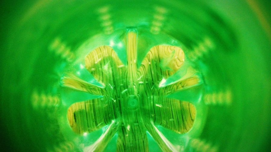 visual arts Visual Creativity light and reflection Inner Side Inner View Bottle Bottom Indianphotographer Anandshukla Jahnavi Creatiin UnderSea Full Frame Close-up Sky Green Color