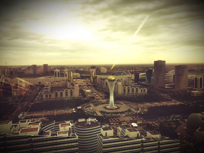 Astana Water-green Boulevard Baiterek Posh Cityscape Emerald Towers Nurly Zhol City View  Cityscapes City Landscape