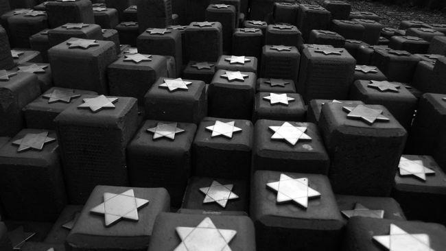 Jewish Memorial Jewishstar Jew Memorial Westerbork