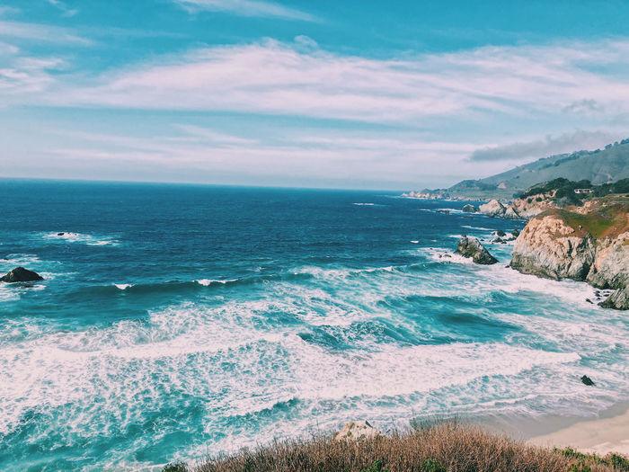 Big sur ocean views