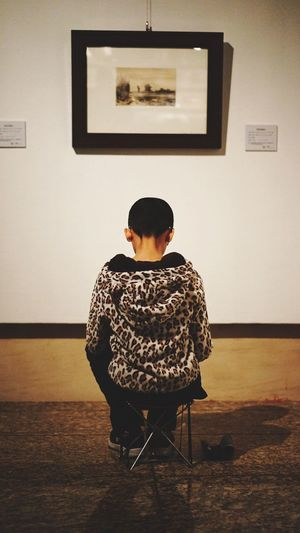 Kid Kids Being Kids Kidsphotography Art ArtWork Making Art Paint Painting Exhibition Museum Gallery Beijing