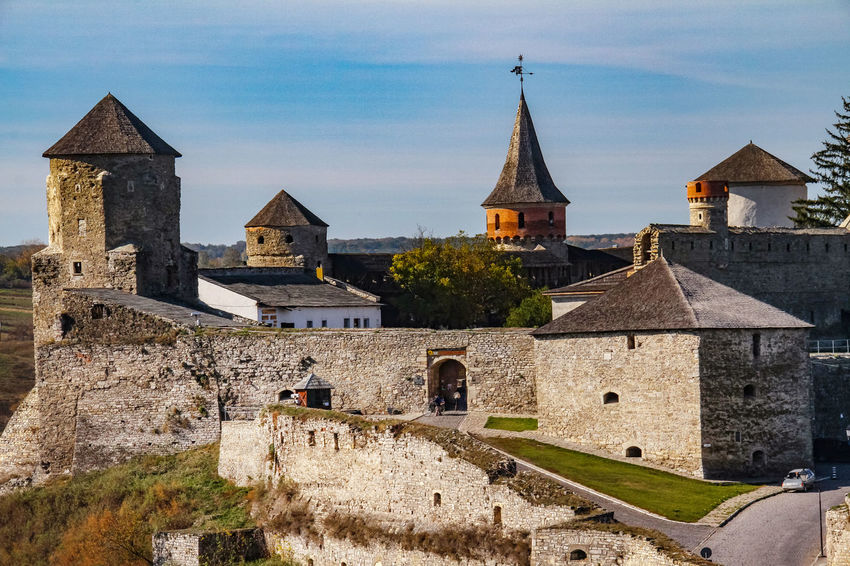 Castle The Week on EyeEm Tourist Attraction  Travel Architecture Building Exterior Built Structure Castle Day History Kamenets-Podolsky Nature No People Outdoors Place Of Worship Religion Sky Tourism Travel Destinations