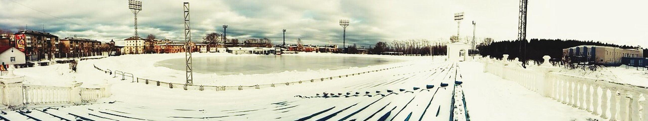 Winter stadium