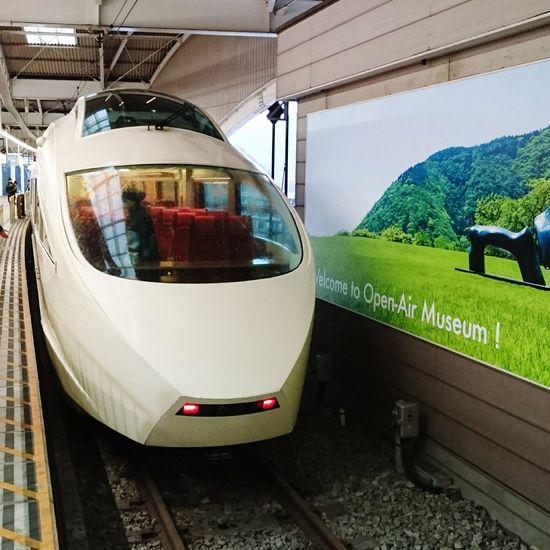 Train Train Station Trains ロマンスカー ロマンスカーで箱根へGO♡ 鉄道 乗り物 小田急 箱根湯本 箱根 はこね Hakone Hakone Japan HAKONE!! Hakone-JP Hakone-yumoto Hakoneyumoto