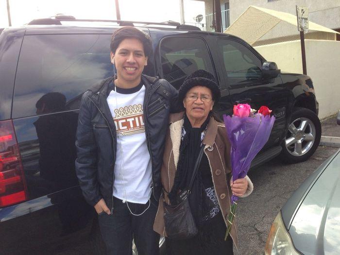 Flowers For Grandma Haha