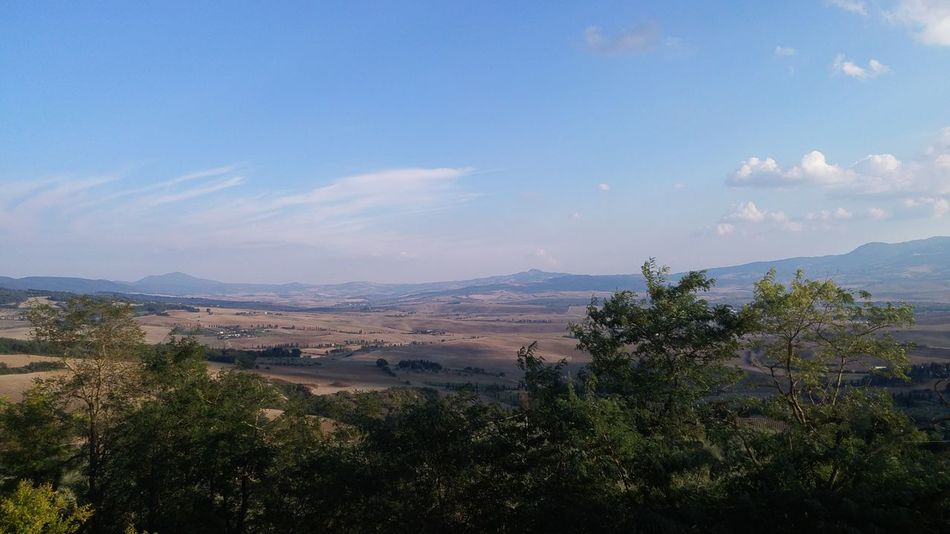 Beauty In Nature Hills Nature No People Non-urban Scene Outdoors Pienza Italy Sky Tranquil Scene