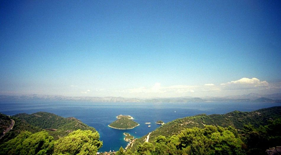 Sommergefühle Landscapes South Analog Camera Analog Photography Ultra Wide Angle I Love My Ultra Wide Angle Summer View Seaside Mljet EyeEm Nature Lover Lost In The Landscape