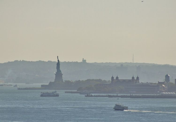 New York New York City Lady Liberty Statue Of Liberty Ellis Island  New York Harbor