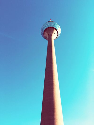 EyeEm Selects Low Angle View Clear Sky Sky Architecture Tall - High Tower Blue City Travel Destinations First Eyeem Photo