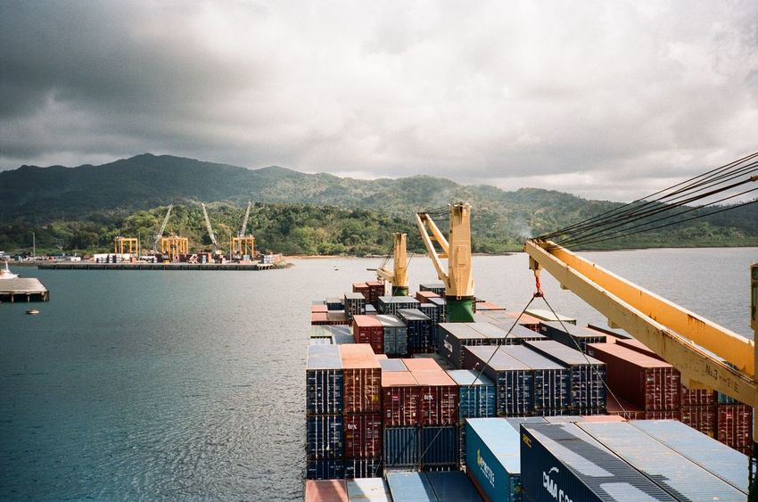 Container Fine Art Photography Transportation Boat Film Photography Filmisnotdead First Eyeem Photo Landscape Sea