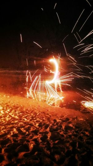 Firecamp Firewheel Nightonthebeach Cool