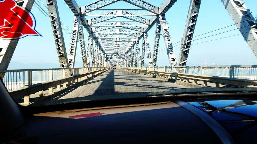 Bridge Bridge - Man Made Structure Brahmaputra Assam