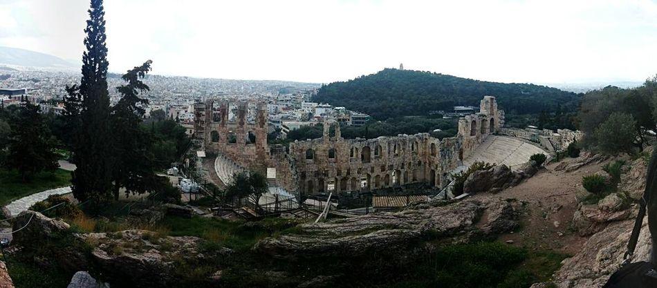 Atene Athens, Greece Athens Greekstyle Acropolis Greece GREECE ♥♥ Teatre  Traveling Hello World