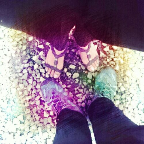 Youandme Photography Amazing Memories Made  Somewhere Feets Shoes Love Boyfriend && Girlfriend ♡♥