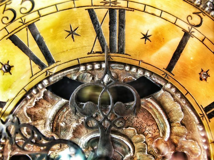 timeless 🕗 Uhrenmuseum Putbus Time Timeless Gold Gold Colored Golden Hour Mechanic Uhr Germany🇩🇪 Mecklenburg-Vorpommern Astronomy Clock Face Clock Gold Colored Astrology Sign Gold Full Frame Close-up Historic Decorative Art Galaxy Half Moon Astronomical Clock Holiday Moments