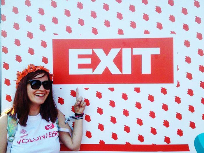 The Journey Is The Destination EXIT Festival Exit Magic 2016 Party Exit Camp Volunteer Girl Power