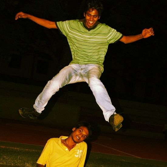 Jump for happiness! Jump