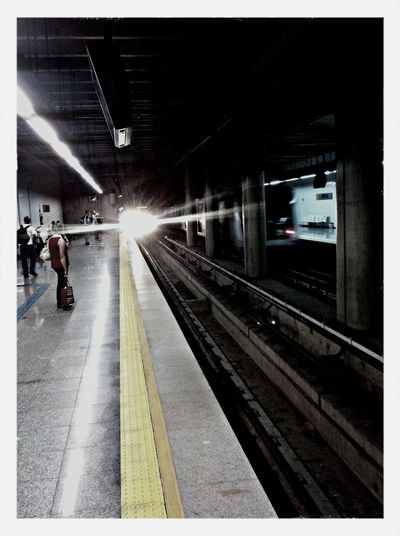 Pega os trem que a coisa vem