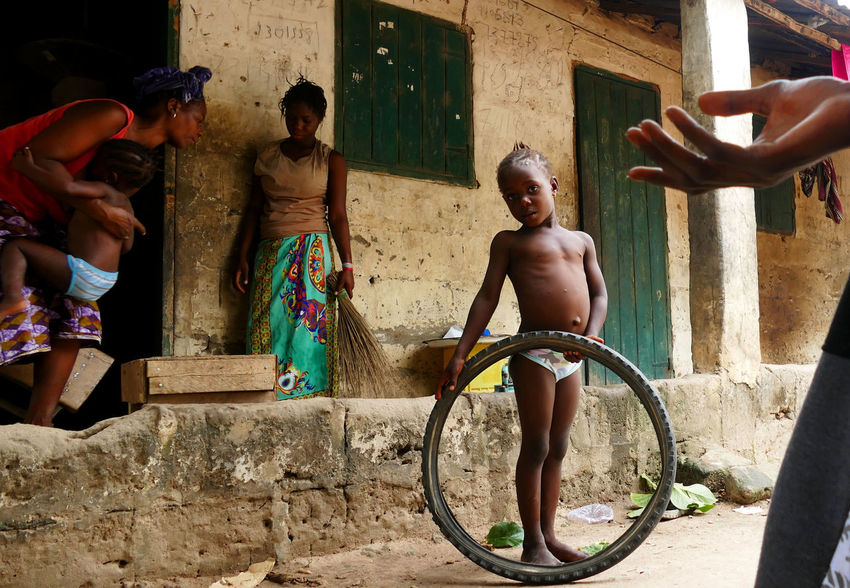Africa Gambia  Lifestyles Smiling