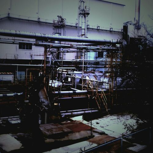 Getting Inspired Taking Photos EyeEm Best Shots Check This Out Colors Japan A Factory Industrial Area Industrial Photography Blue