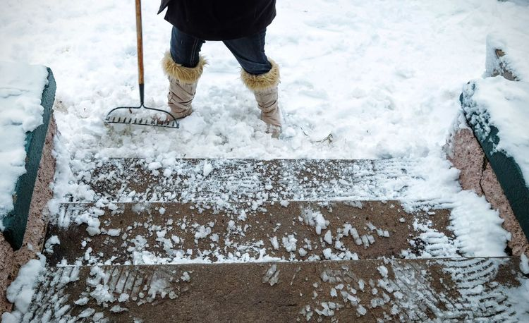 Americans Boots Camera Work Carnival Of Feet Cleaning Cold Temperature Family Feet Feet On The Ground Foot Photography Footwear Person Personal Perspective Photo Essay Project Shoes Snow Steps Weather Winter The Street Photographer - 2017 EyeEm Awards