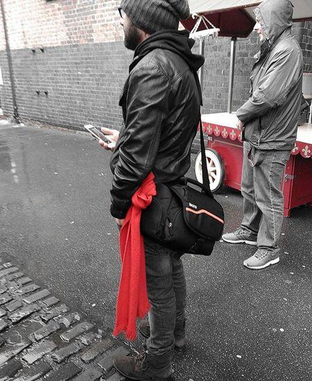 A red @danepollard at Mosi Igersmcr Mcr_mosi_meet