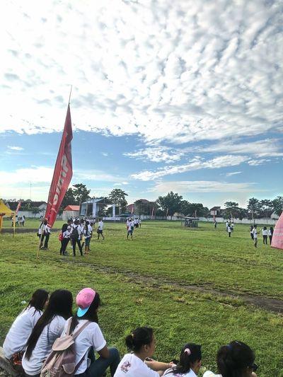 """ to gather :) To Gather Color Run Starting Point Early Morning Sunday Funday Funbwi Banyuwangi"