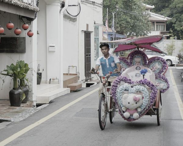 Melaka Malaysia The World Heritage Trishaw Jonker Street