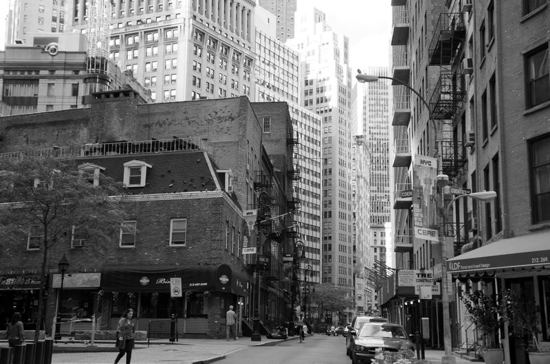 Architecture Black And White City Culture New York New York City NYC Street Photography Traveling