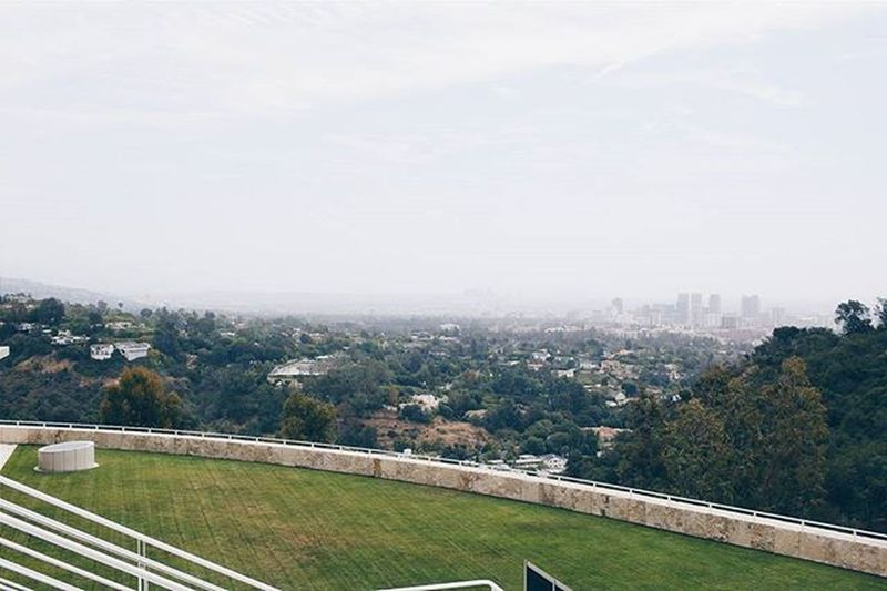 Hello ⛅⛅⛅ LA. Getty Thegetty Gettymuseum Theviews